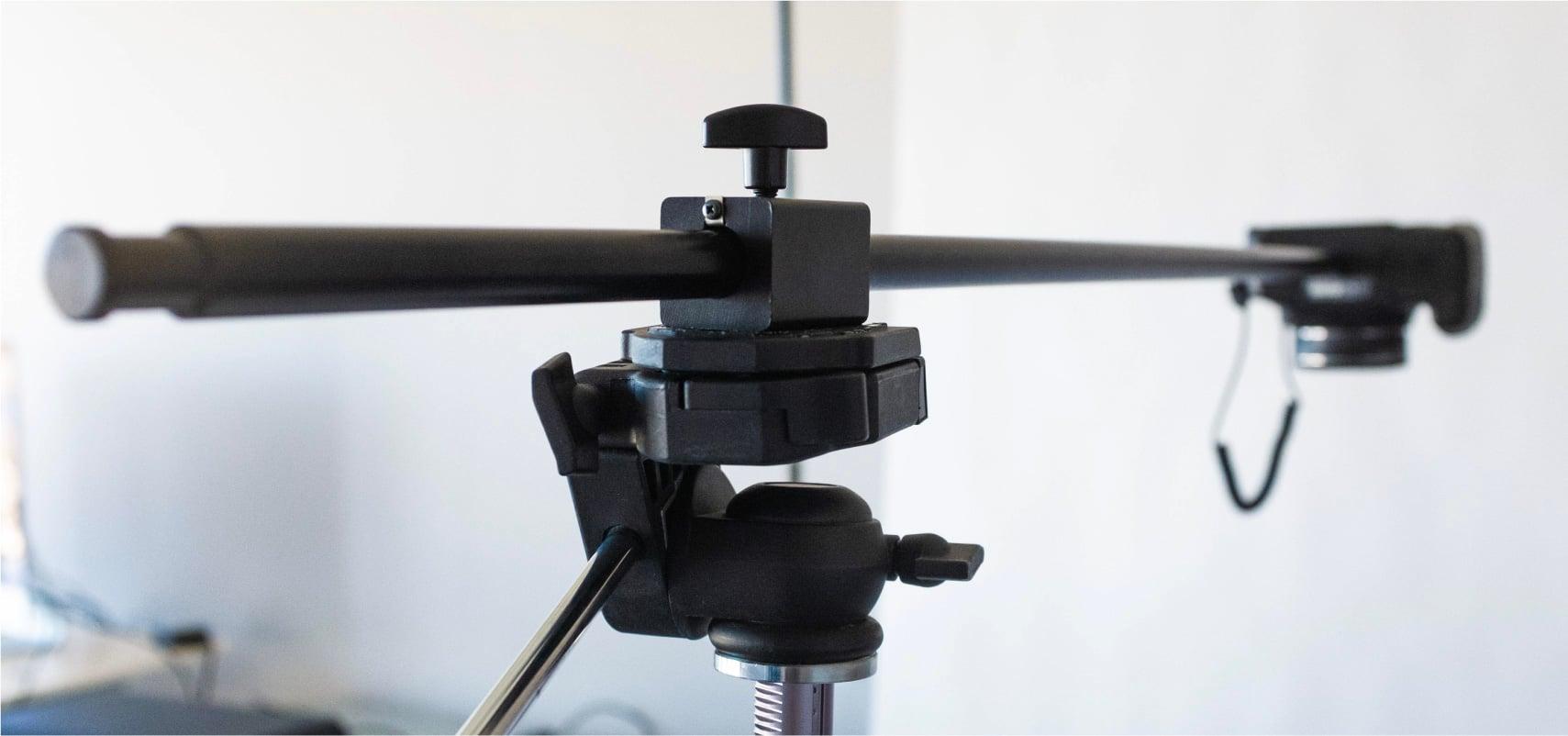 Overhead tripod adaptor